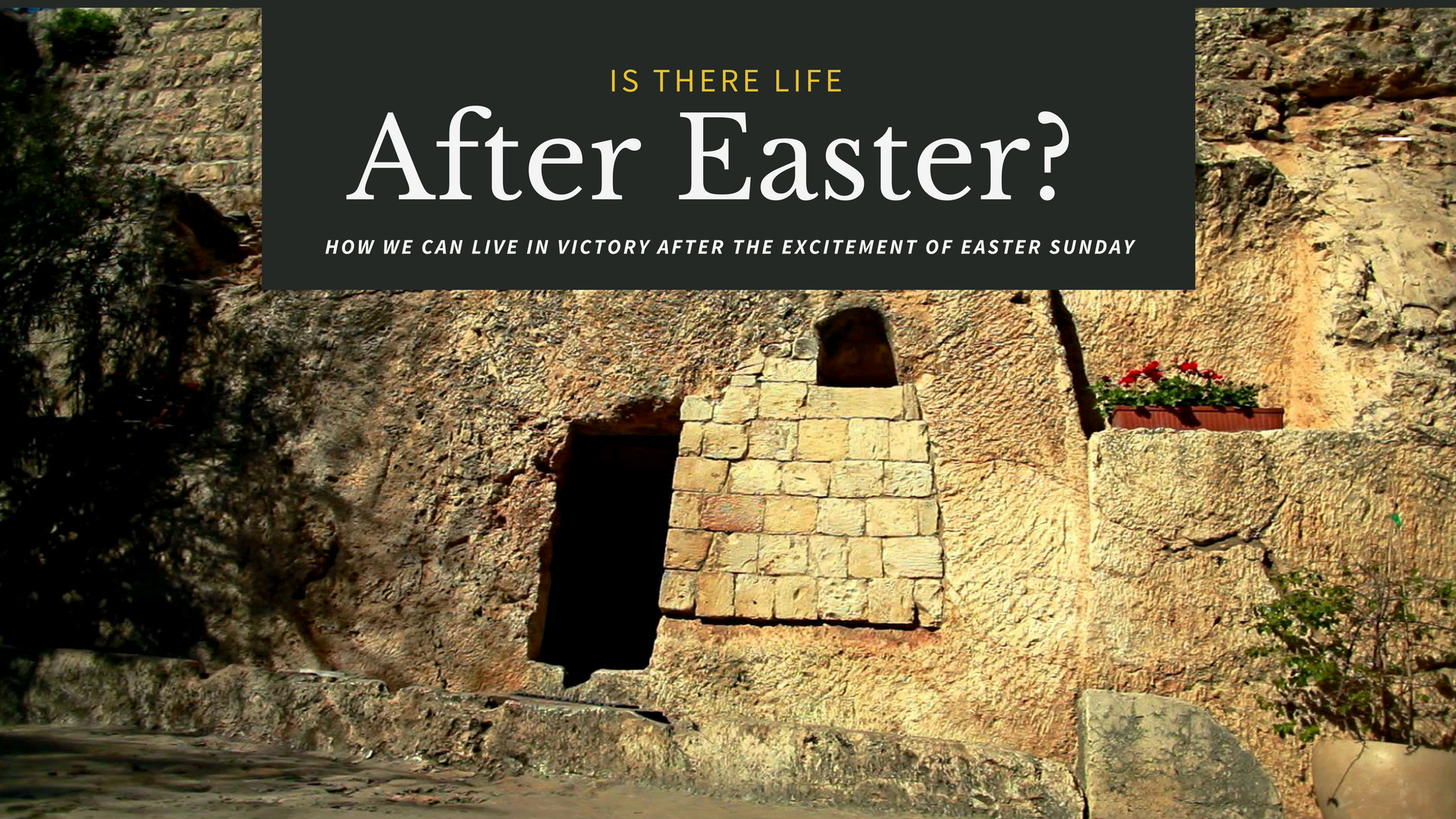 Life after Easter Sunday
