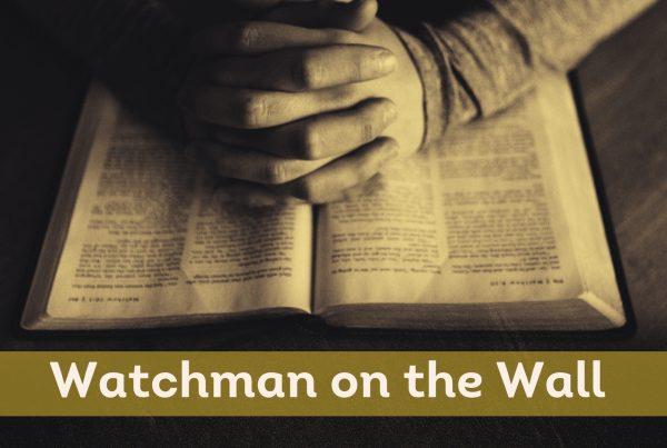watchman weekly prayer guide