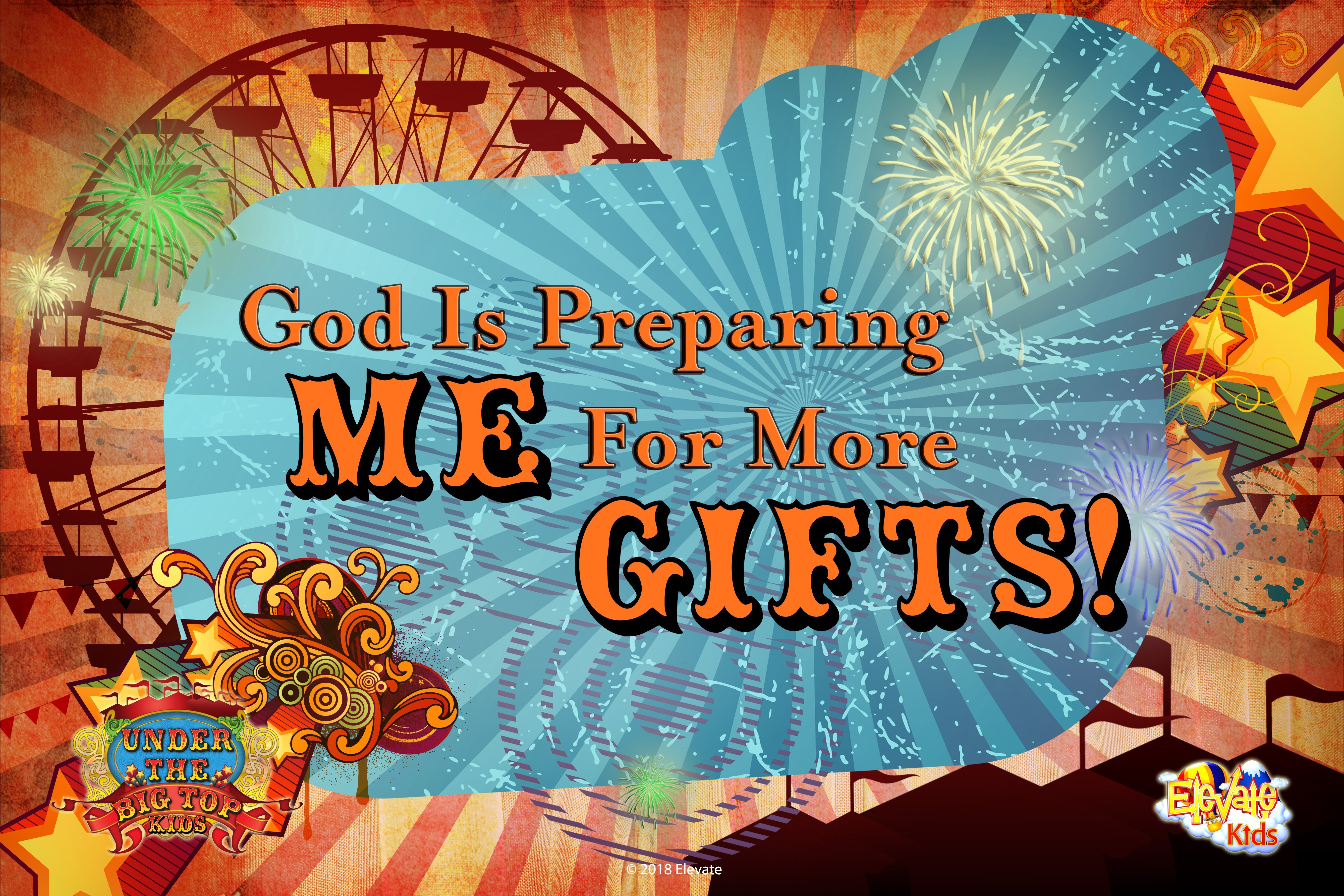Oct. 28 | 9:30am | God is Preparing Me for More Gifts!