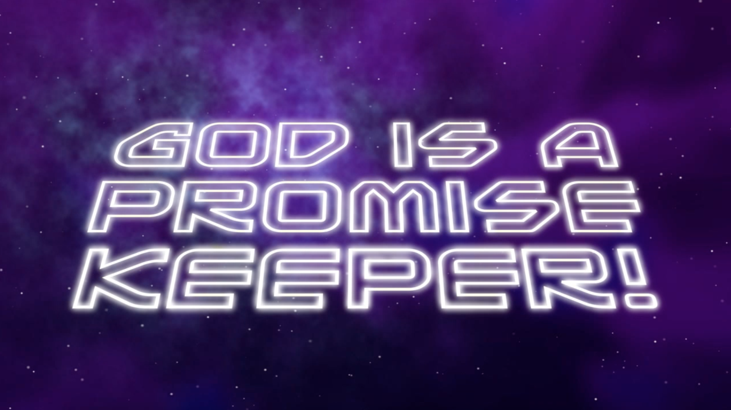 Nov. 11 | 11:00am | God is a Promise Keeper!