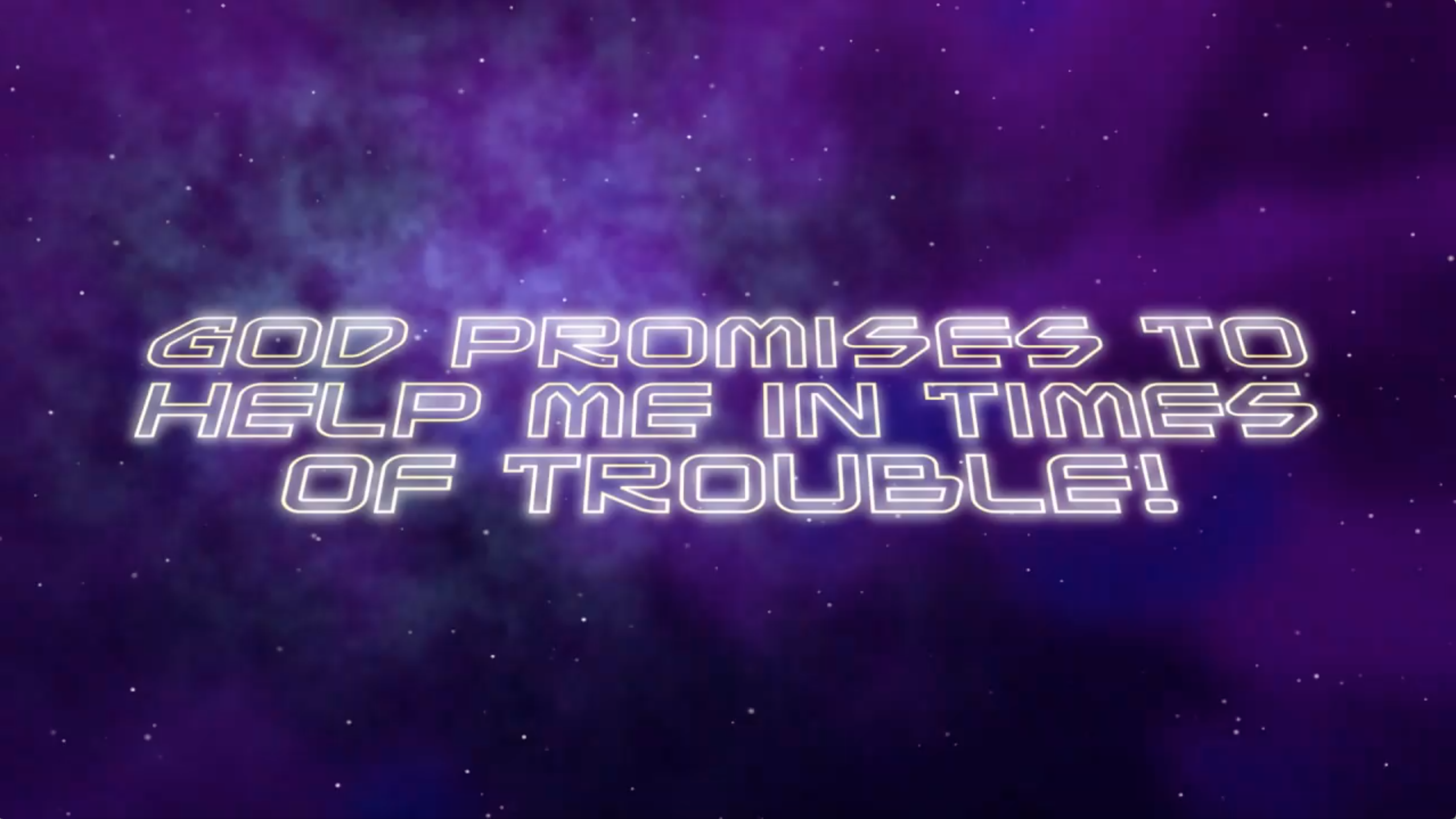 Nov. 25 | 11:00am | God Promises to Help Me in Times of Trouble!
