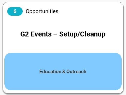 G2 Events - Setup/Cleanup