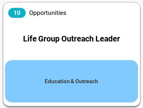 Life Group Outreach Leader