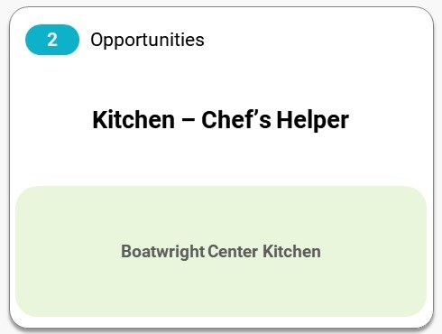 Kitchen - Chef helper