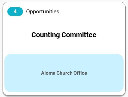 Connect | Serve at Aloma