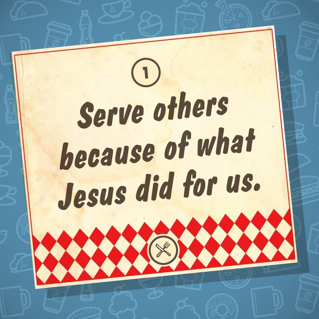 Feb. 3rd | 10:00am | Serve Others Because of What Jesus Did For Us!