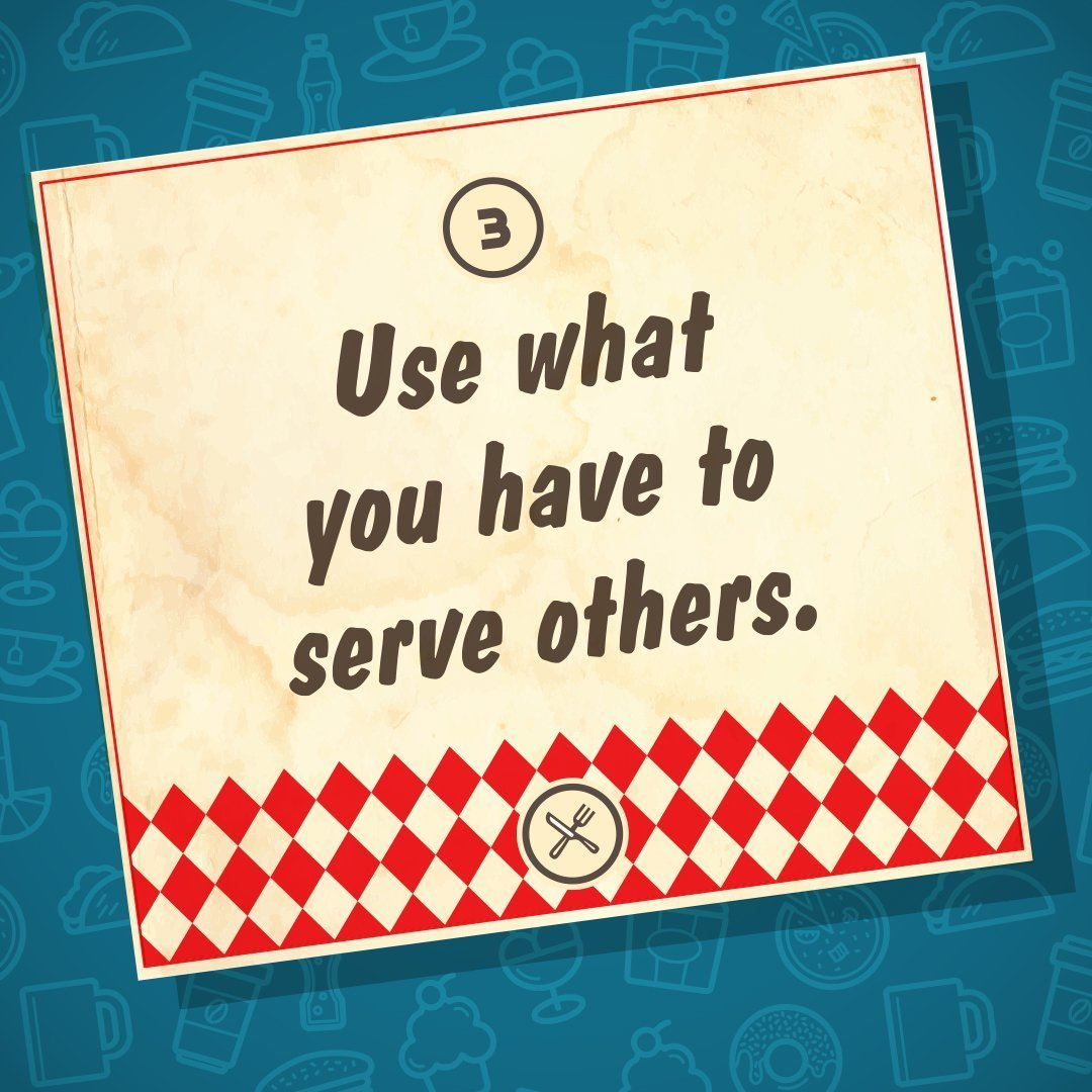 Feb. 17 | 9:30am | Use what you have to serve others