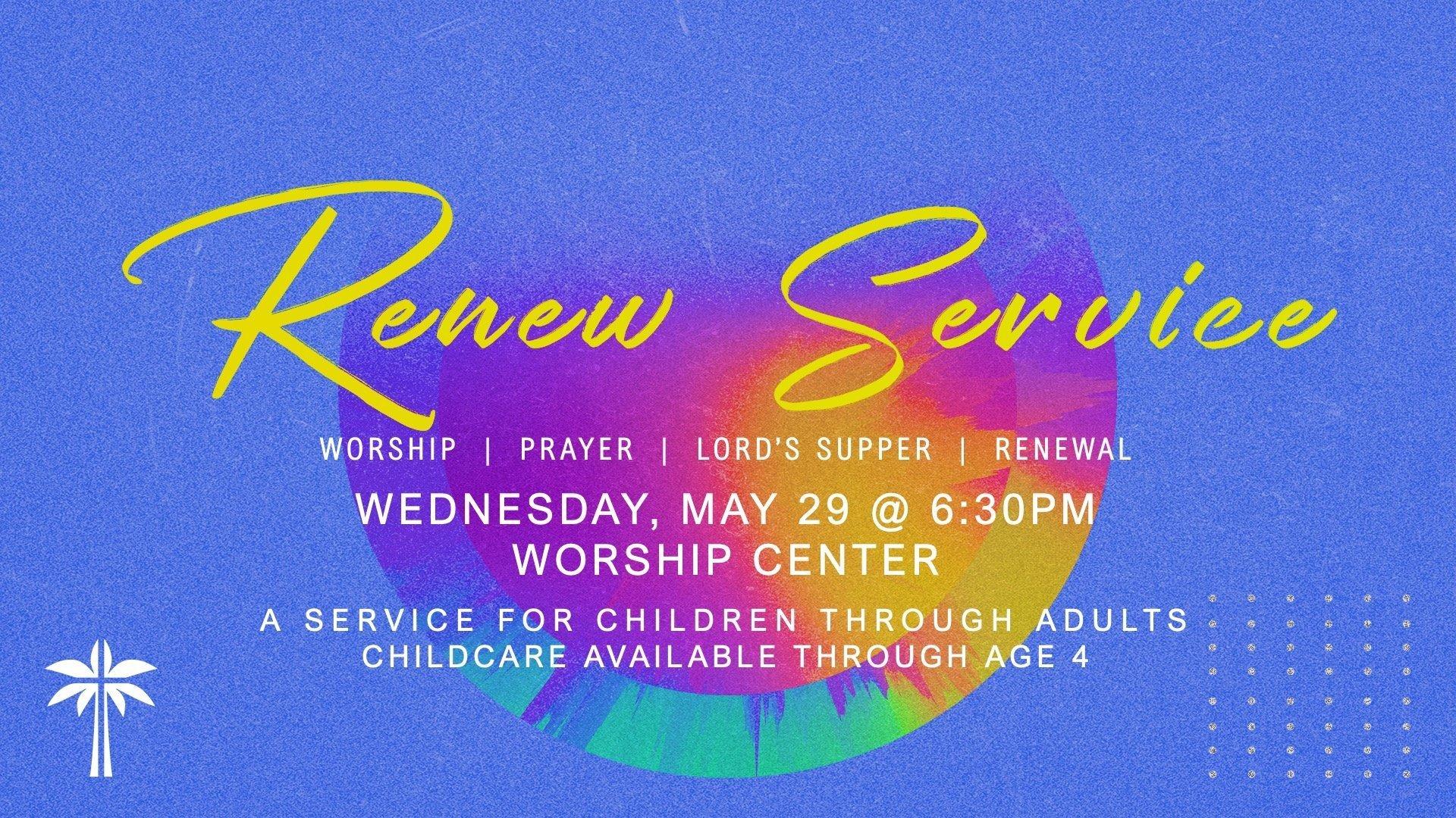 Renew Service