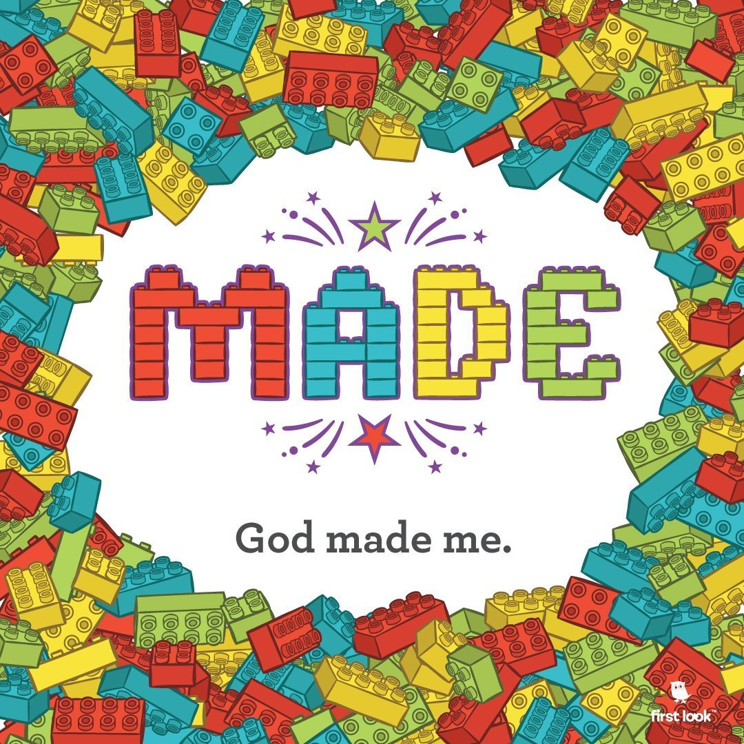 March 17th | 9:30am | God Made Me
