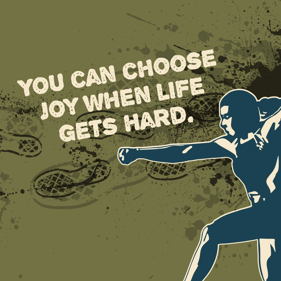 May 12th | 9:30am | You can choose joy when life gets hard