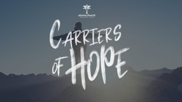Carrier of Hope - JOY & PEACE Image
