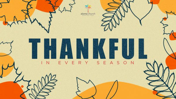 Thankfulness IN All Things Image
